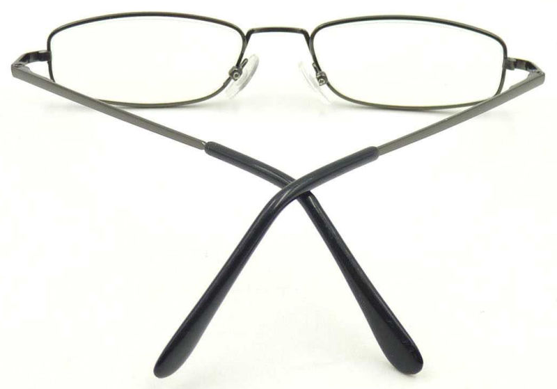 RM17053 Small Frame Metal Reading Glass with AC Lens Unisex Style