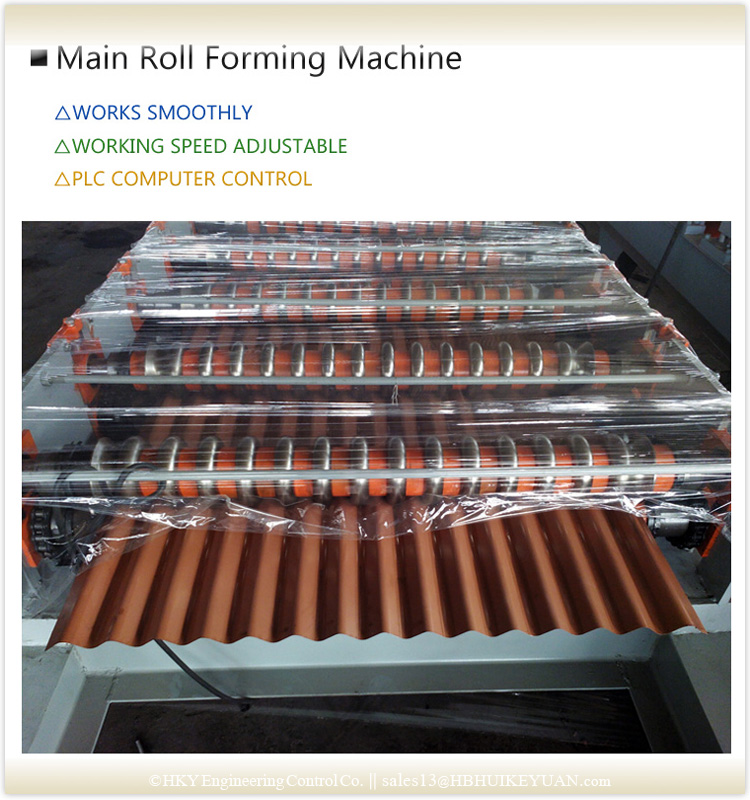 Metal Roof Roll Forming Machine From China
