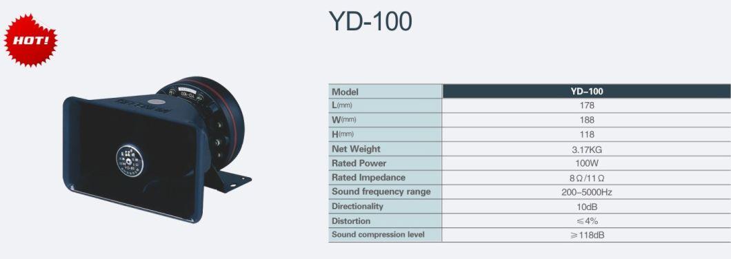 Senken 118+dB 100W 200-5000Hz Car Siren Speaker