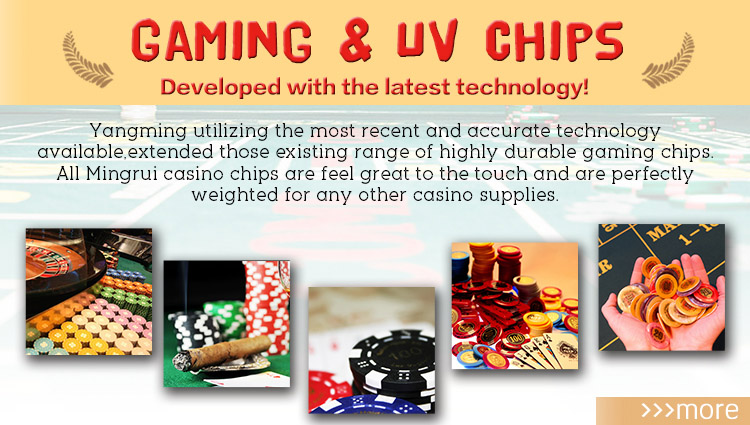 Solid Color Poker Chips (YM-RP01)