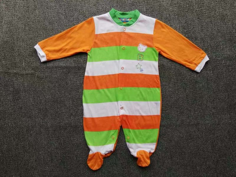 Baby Romper Summer/Autumn Jumpsuit/Romper 100% Cotton Stock Apparel for 0m-24m