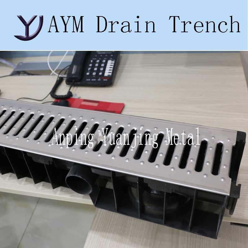 Surface Linear Drain Channel Grating Floor Drain