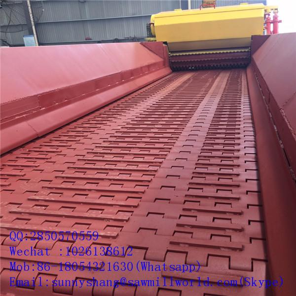 CNC Control Log Composite Crusher