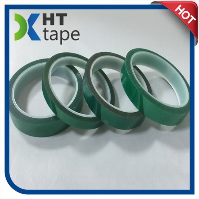 Green Polyester Silicone Adhesive Tape