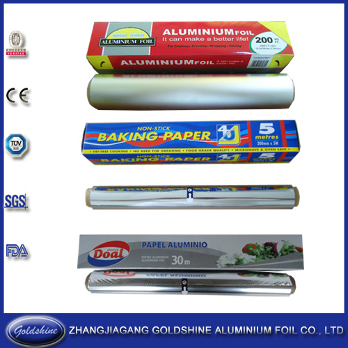 Food Cooking Aluminum Foil Roll Household Food Package Foil