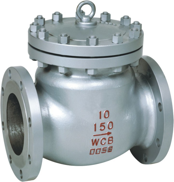 One Way Control Stainless Steel Hydraulic Swing Check Valve