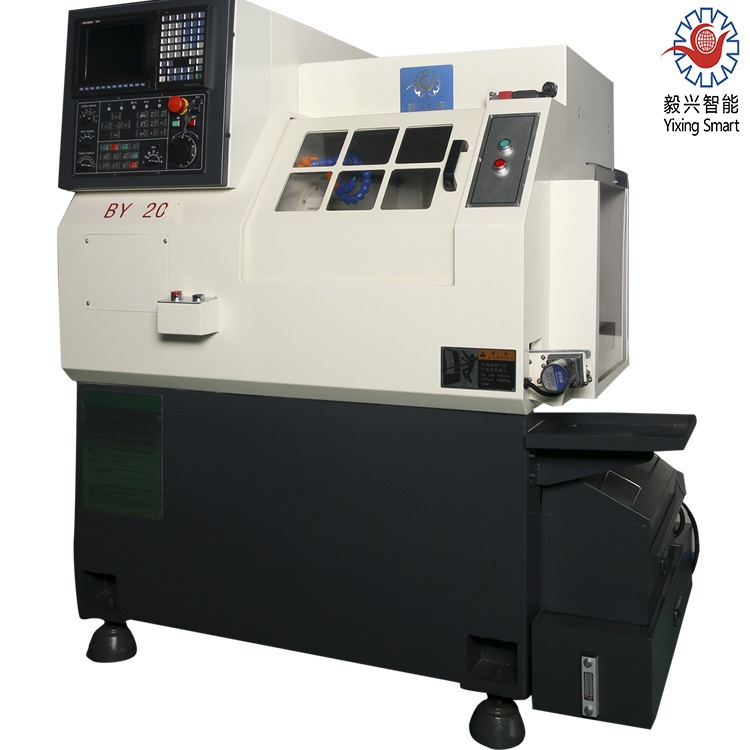 Dia 20mm Multi Function Slant Bed CNC Lathe By20 Turning Center Machine