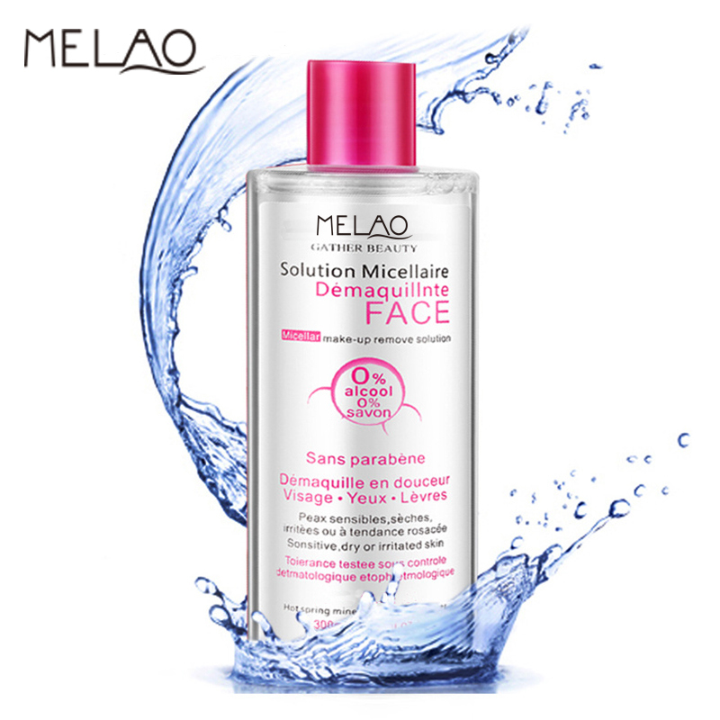 Skin Active Micellar Cleansing Water Make up Remove Solution for All Skin Types