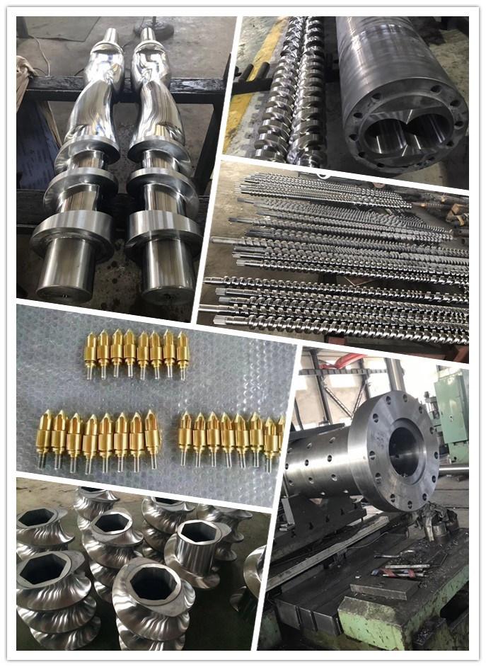 Plastic Injection Mold Machine Bimetallic Barrel Screw with Good Quality