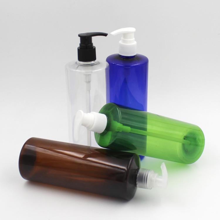 300ml 500ml Color Customization Plastic Lotion Bottle (NB235)