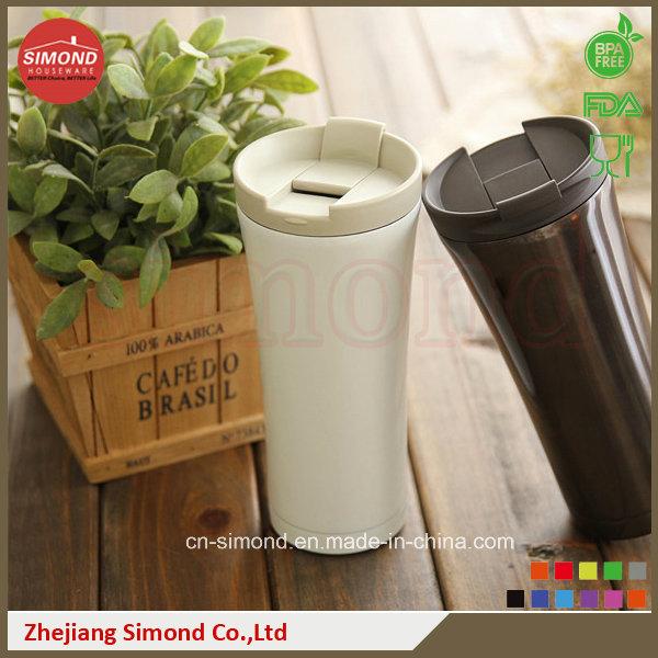500 Ml New 18/8 Stainless Steel Vacuum Coffee Mug (SD-8014)