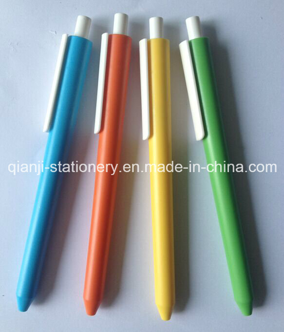 2015 New Design Plastic Ball Pen for Promtion