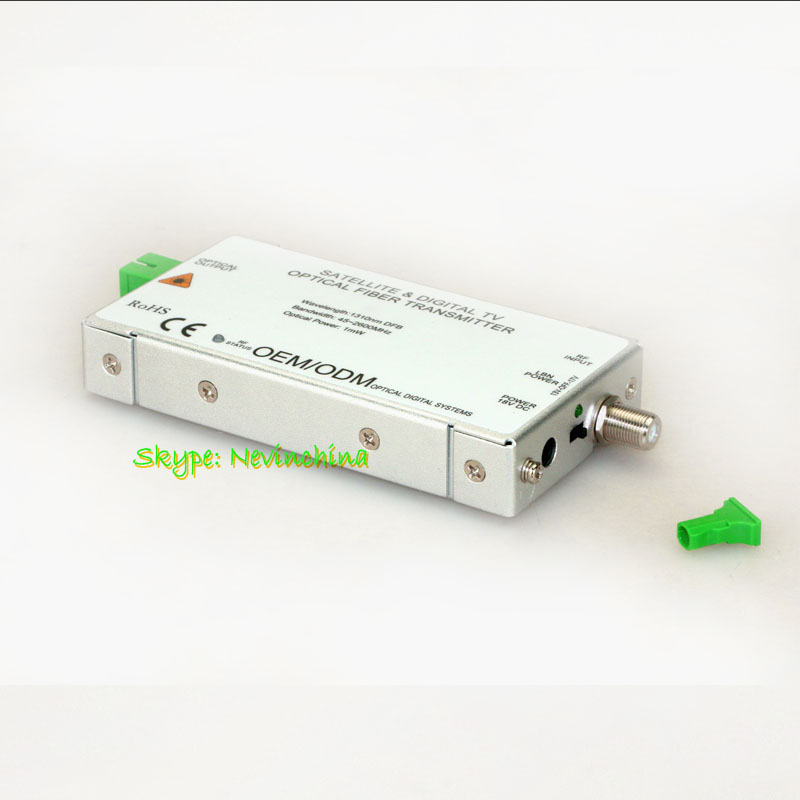 Satellite Optic Receiver and Transmitter