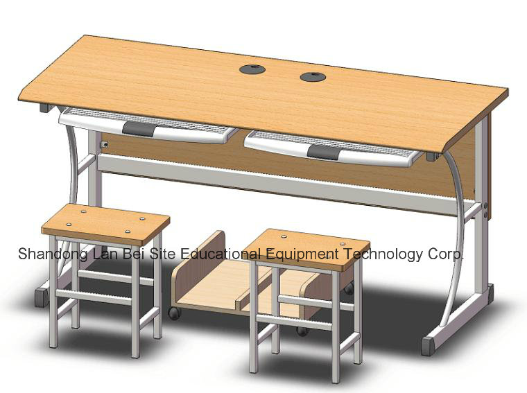 Environmental Friendly Double Computer Desk