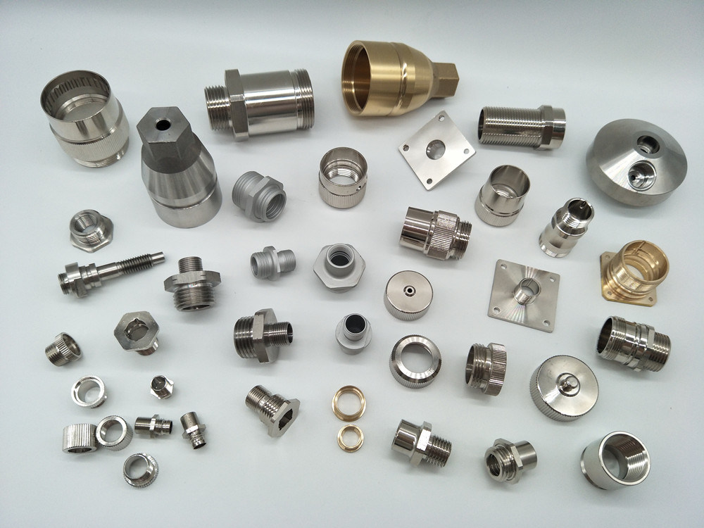 Professional Copper M12-D Coupling Nut for Connectors