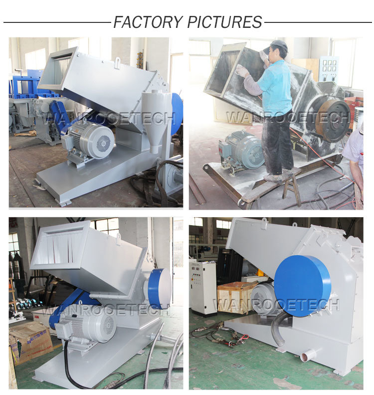 Pnpc Small Waste Plastic HDPE PVC Pipe Crusher