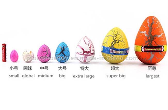 New Magic Growing Pet Dinasour Eggs Football Hatching Egg Toys