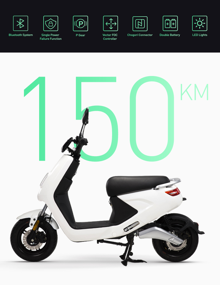 EEC COC adult motorcycle Electric Scooter For Sharing