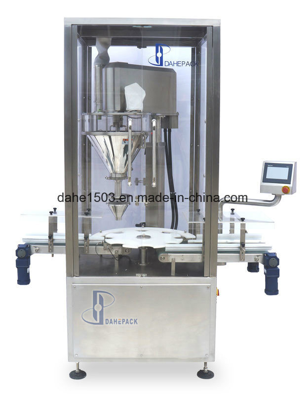 Rotary Powder Filling Machine with Inline Checkweigher