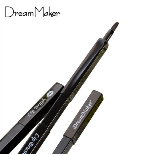 OEM/ODM Acceptable Synthetic Hair Flexible Tube Lip Brush.
