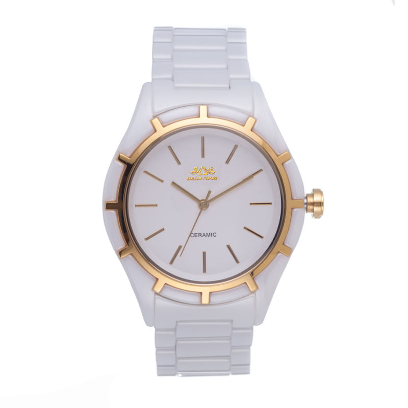 New Design All Full Ceramic Quartz Lady Watch