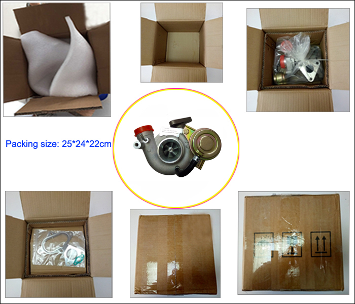 Gt2056V Yd25 Turbocharger 14411-Eb700 767720-5004s 767720-0002 Turbo for Nissan D40