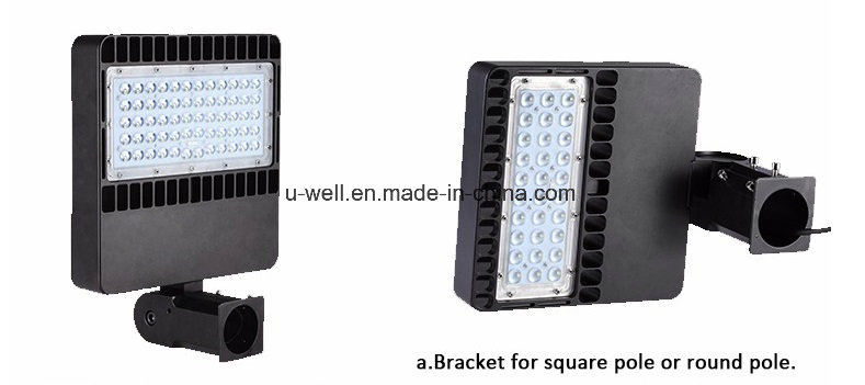 Dlc ETL LED Parking Lot Light with Motion Sensor Parking Lot