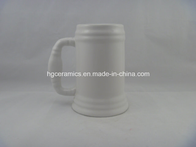 Sublimation Beer Stein, Sublimation 500ml Beer Stein