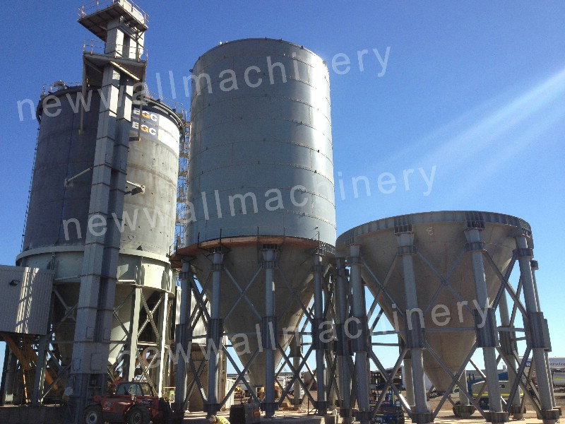 1800t Bolted Cement Transfer Silo