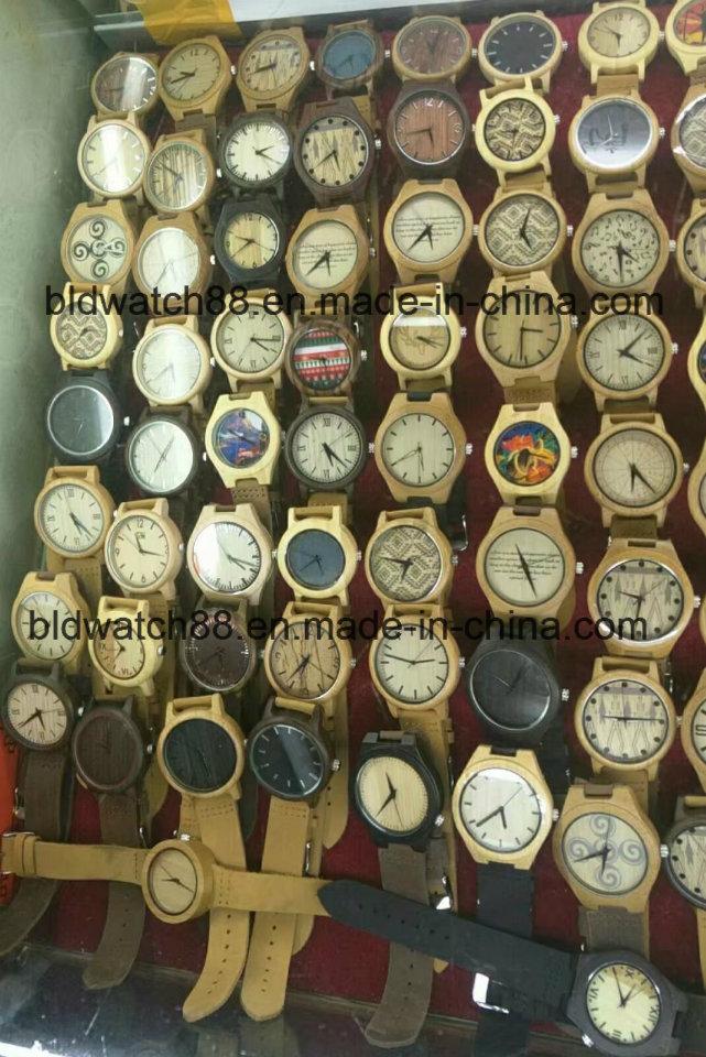 Handmade Quartz Cherry Wood Watches Mini Band Watch for Ladies