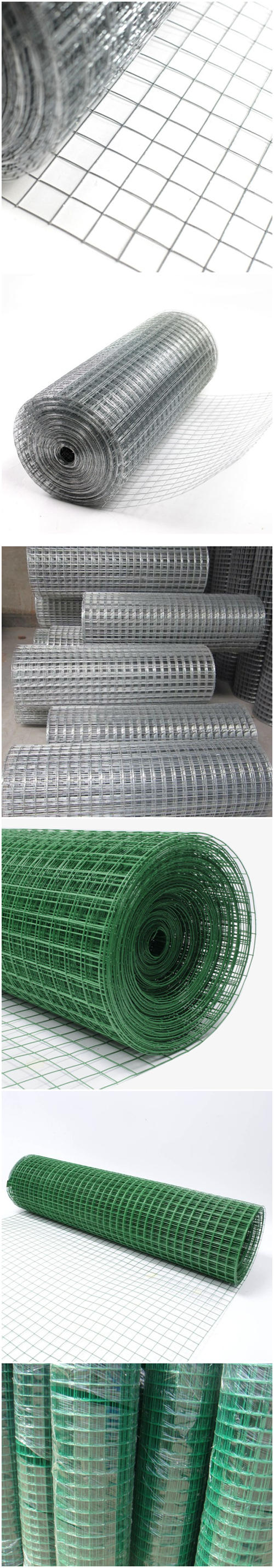 Galvanized Welded Wire Mesh Fabric China Supply