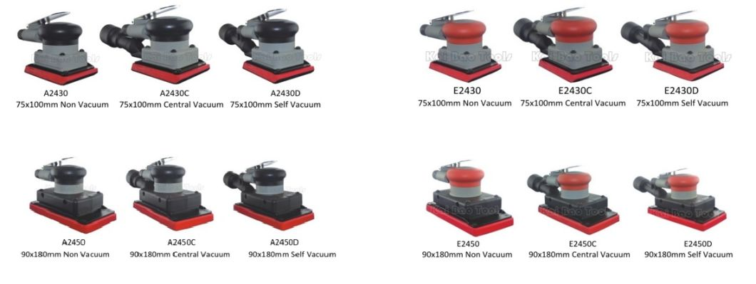 Pneumatic Air Dual Action Sander for 5`` Sanding Pad