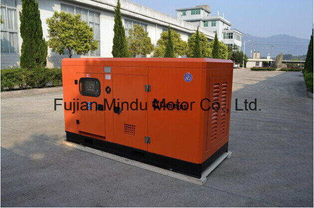 Noiseless 110kVA Yuchai Diesel Generator Set with ATS