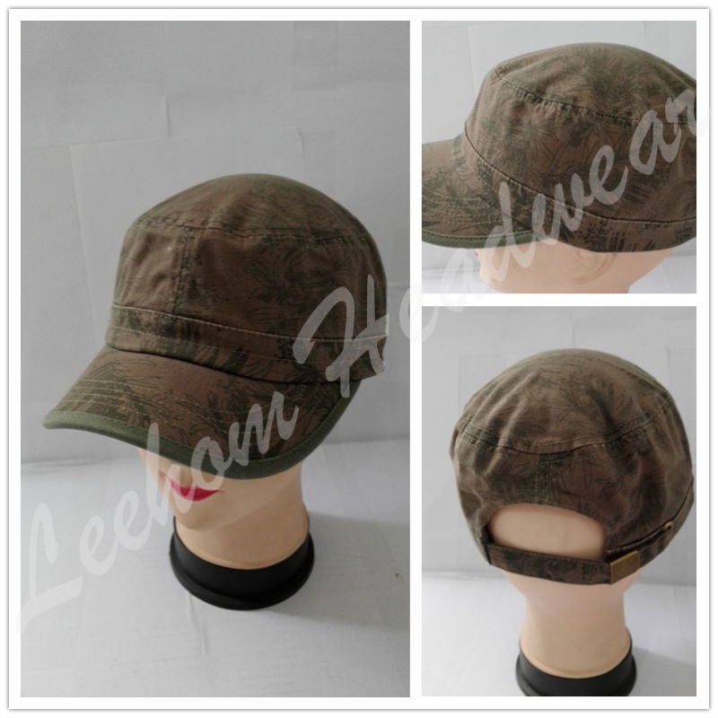 Washed Promotional Military Caps for Army