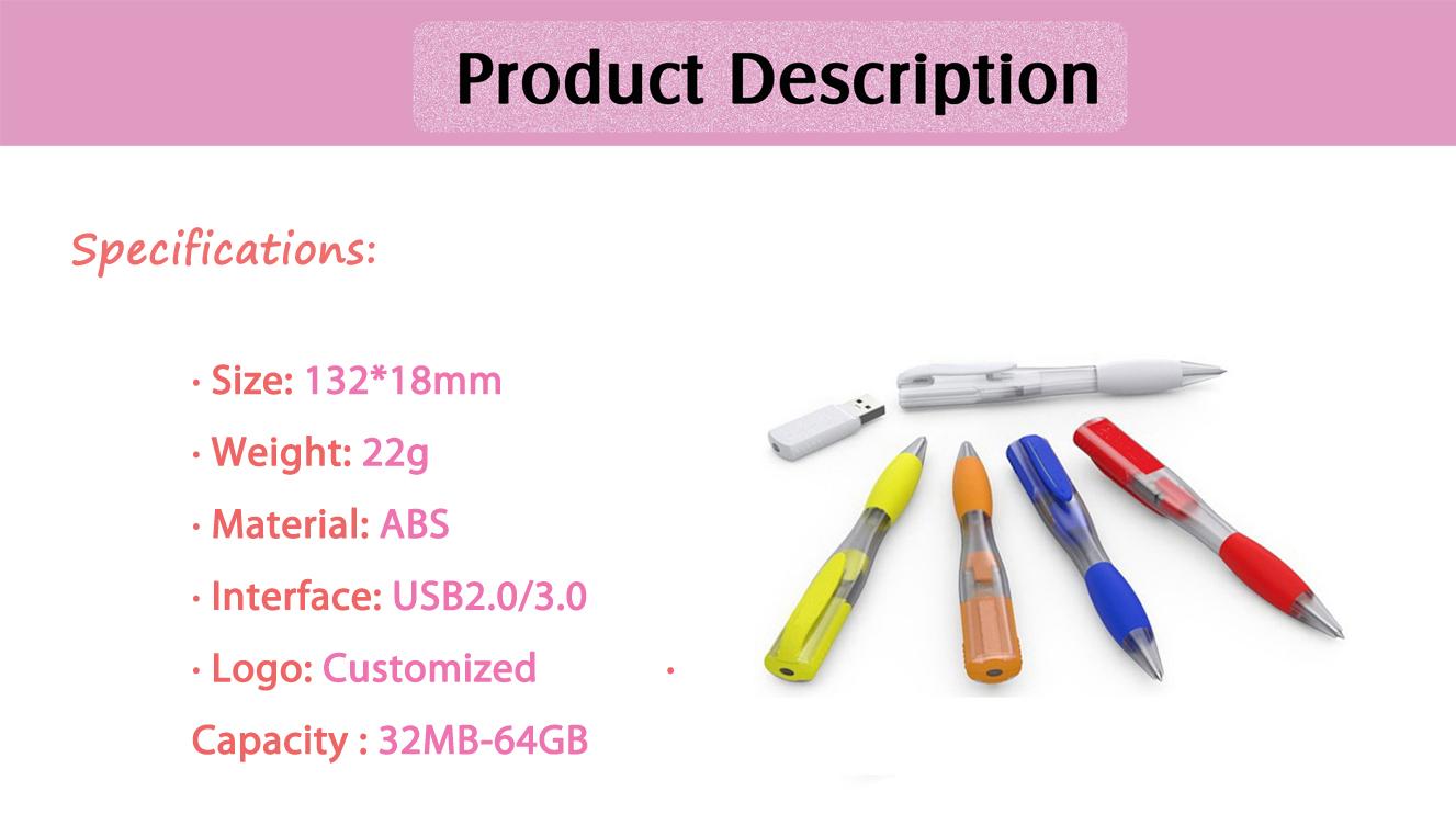 Plastic 2.0 Usb Flash Drive