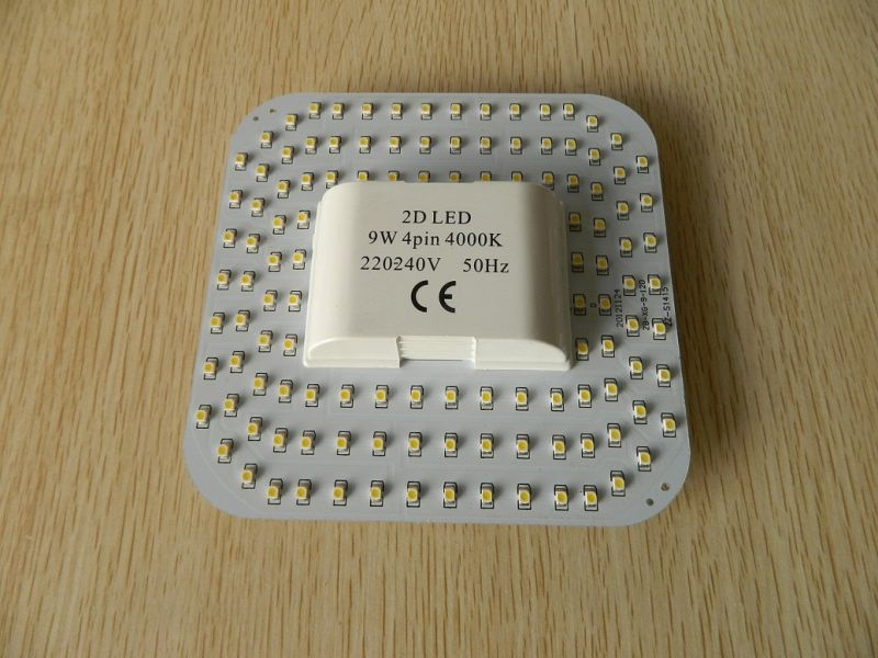 9W 4 Pin 2d LED Lamp
