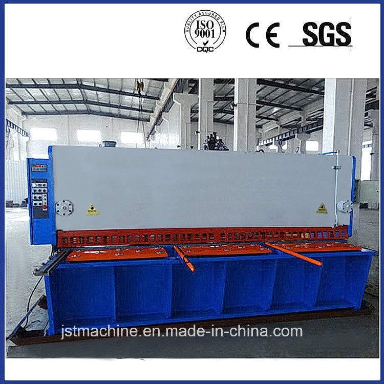 Metal Steel Sheet Plate CNC Hydraulic Guillotine Shear (RAS326)