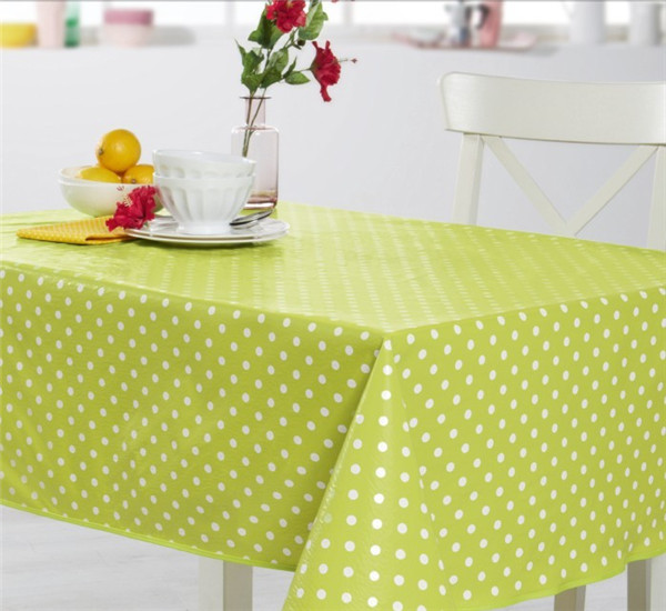 Hot Sale High Quality Custom Printed PVC Material Plastic Tablecloth with Backing