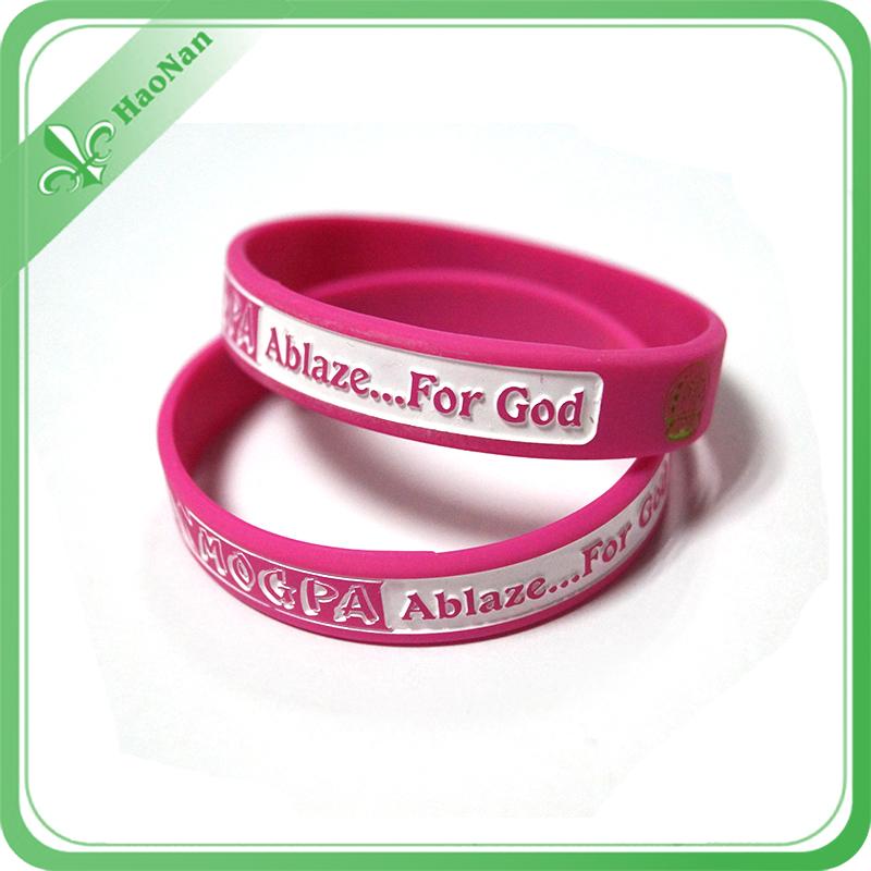 Promotional Custom Bracelet Silicone Wristband