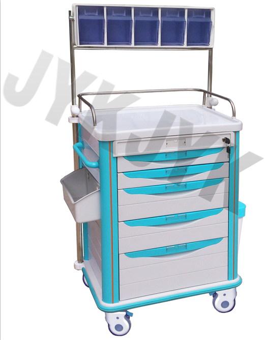 Medical ABS Medicine Trolley Jyk-C11c