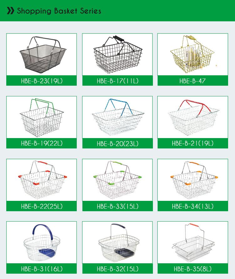 Mini Shopping Cart Toy Metal Mini Shopping Basket