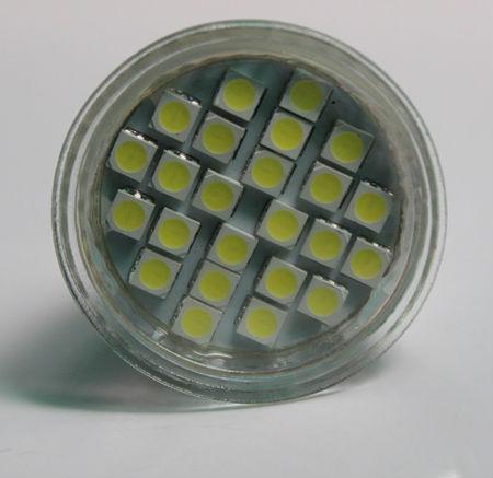 LED Ceiling Spotlight GU10/MR16/E27/E14 2W/3W/4W/5W (24SMD 5050 with glass cover)