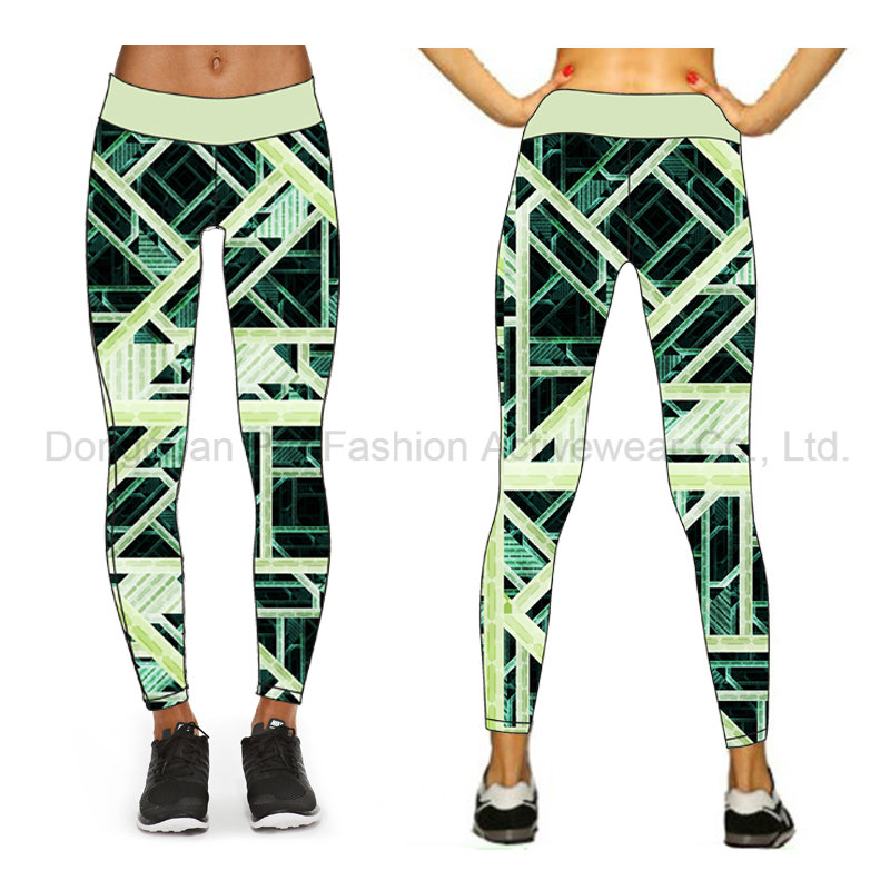 New Stylish Custom Sublimation Fitness Yoga Pants