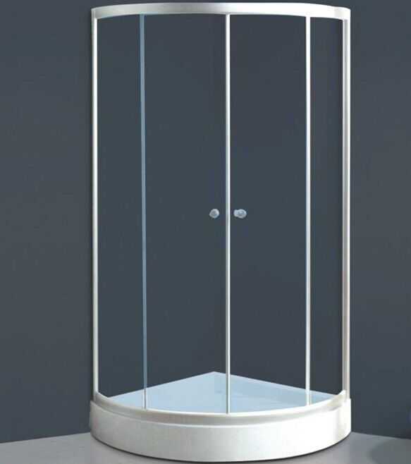 Round Base White Shower Enclosure (ADL-K3)