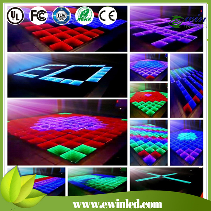 Wedding New Modle LED Display Light LED Dance Floor Tiles