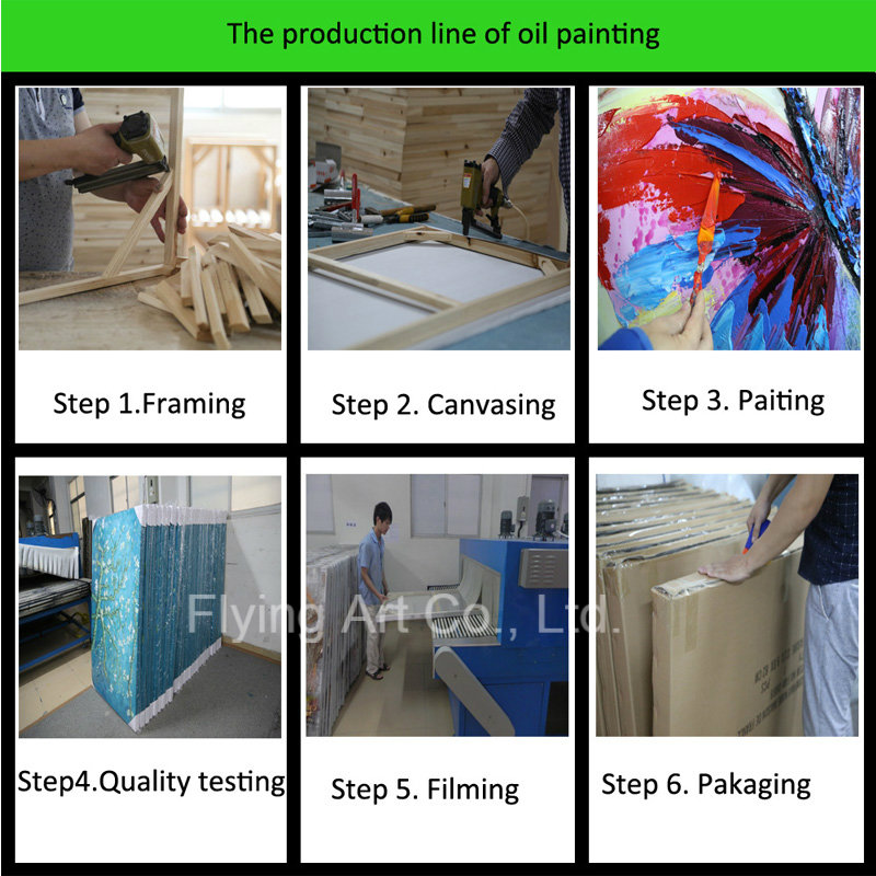 Oil Painting Manufacturer with Sand Material