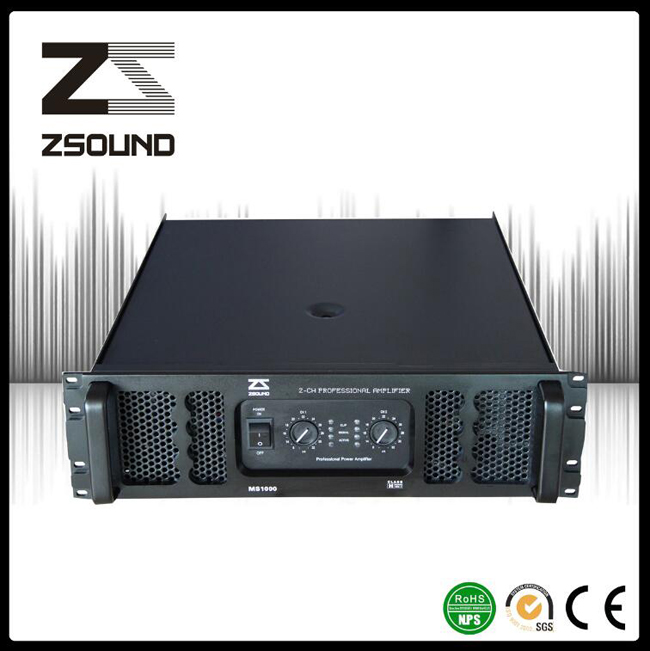 Zsound MS 1000W Audio System Integration Power Speaker Amplifier