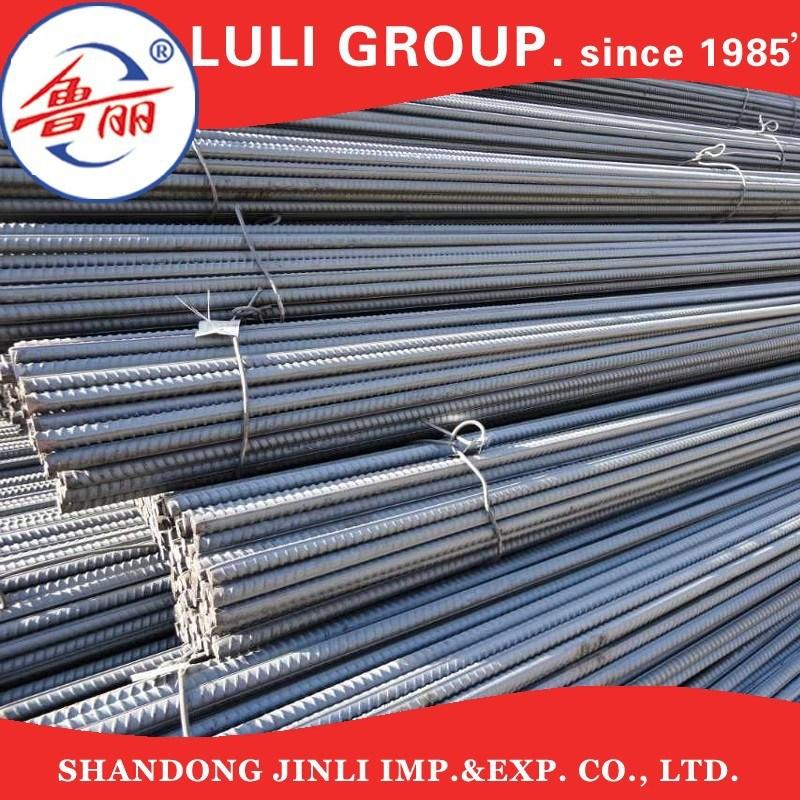 HRB400, HRB500 6mm~40mm Diameter Carbon Steel Deformed Rebar/Reinforcing Steel Bar