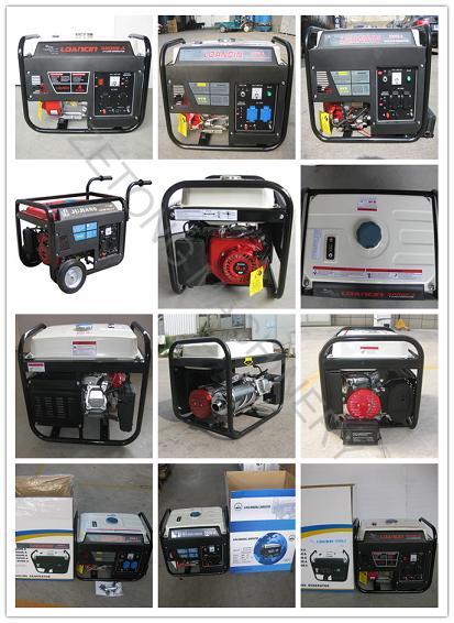 3kVA Portable 4 Stroke Electricity Gasoline Genset (generator)
