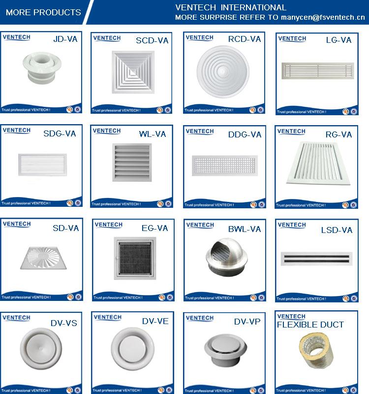 Aluninum Flexible Air Duct for Ventilation Use